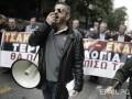 Масштабная забастовка в Греции парализовала движение транспорта