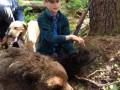 На Аляске мальчик спас родных от нападения медведя