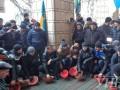 Несколько тысяч шахтеров пикетируют Минэнерго