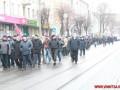 В Виннице прошли маршем против провокаций и