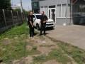 В Харькове возле автомойки произошел взрыв