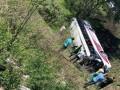 В РФ перевернулся автобус с китайцами: есть жертвы