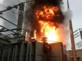 В Луганской области горела трансформаторная подстанция