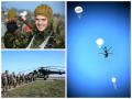 Одесские курсанты совершили свой первый прыжок с парашютом (фото)