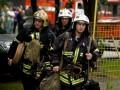 В Киеве горела многоэтажка: людей эвакуировали