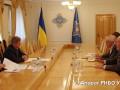 Глава СНБО встретился с советником по вопросам оборонной реформы из Британии
