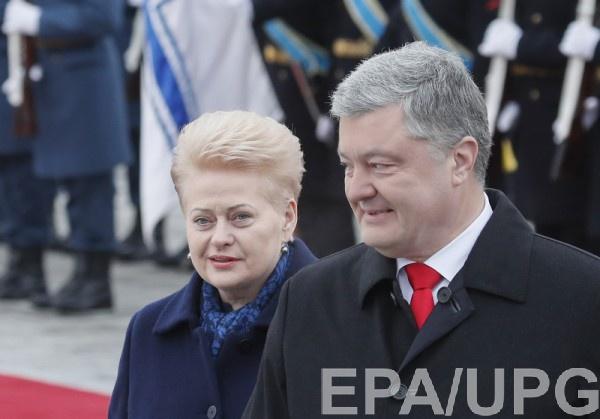 Президент Литвы в пятницу находится с визитом в Киеве