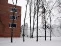 В Полтаве под тяжестью снега рухнула крыша спорткомплекса
