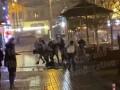 В центре Киева молодежь устроила крупную драку