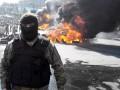 «Зачистка» Майдана: горячие головы и горящие шины (фоторепортаж)
