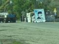 На границе с Крымом демонтировали установленные во время блокады бетонные блоки
