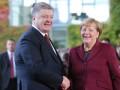 Порошенко первым прибыл в резиденцию Меркель
