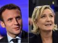 Во Франции прошли дебаты Макрона и Ле Пен