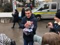 Порошенко ждут в Луцке: Полицейские заблокировали центр