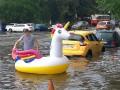 Киев из-за сильного дождя затопило