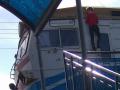 На Дарницком ж/д вокзале от удара током обгорел мальчик
