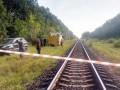 В Житомирской области под поездом с нефтепродуктами взорвались пути