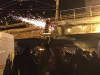 Он устал: Кличко объяснил обрушение Шулявского моста