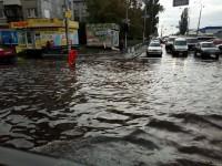 Киевские улицы превратились в реки