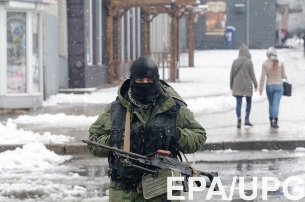 Российские террористы боятся, что бойцы АТО займут Горловку