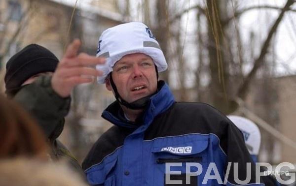 Хуг пожаловался на ограничения патрулей ОБСЕ