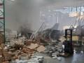 В США истребитель F-16 врезался в здание
