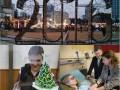 Фото недели: Новогодний городок, подарок от Савченко и Порошенко в Израиле