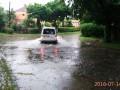 Сильный ливень в Ужгороде затопил улицы города