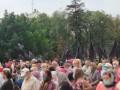 В Киеве устроили акцию против превращения Святой Софии в мечеть