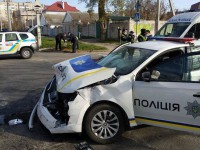В Херсоне в ДТП с участием полиции пострадали пять человек