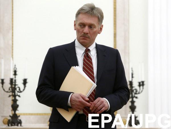 """Песков считает, что в Украине идет """"гражданская война"""", РФ тут не причем"""