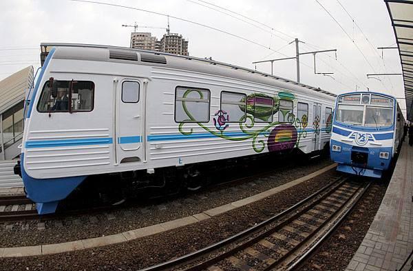В Киеве остановят движение городских электричек