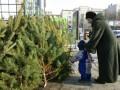В Киеве елку дешевле 100 гривен не найдешь