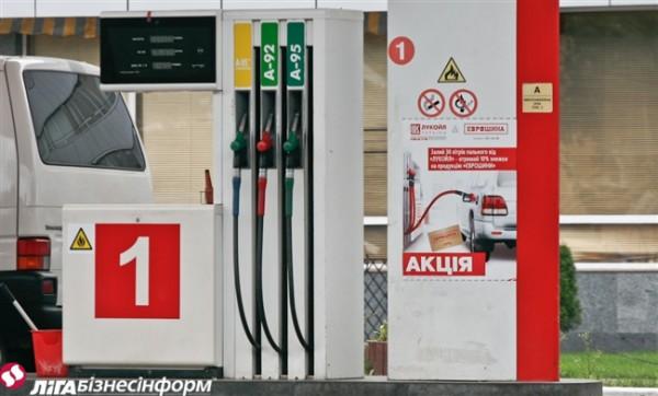 На АЗС Украины выросли цены на дизельное топливо