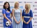 Жены футболистов сборной Украины поддержали мужей фотосессией