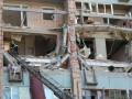 Фоторепортаж с места взрыва в Луганске