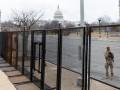 В центре Вашингтона оградили периметр безопасности к инаугурации Байдена
