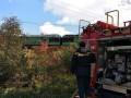 В Черновицкой области загорелся поезд