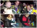 В Днепропетровске на коленях встречали «киборгов» из Донецка (фото)