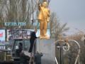 В Запорожской области КПУ восстановила памятник Ленину