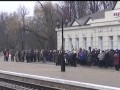 В прифронтовую Авдеевку впервые за 6 лет пустили поезд