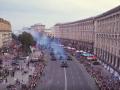 Репетицию парада в Киеве засняли с дрона