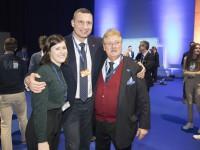 Кличко присоединился к съезду ЕНП в Хельсинки, где обсудил ключевые вызовы Европы