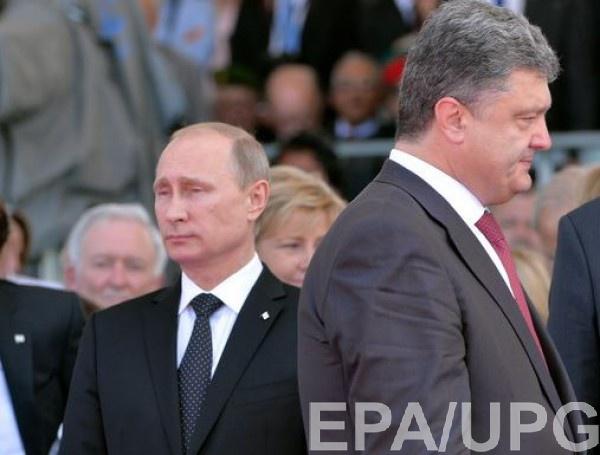 Путин и Порошенко не общаются