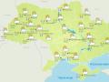 В Украине продолжается теплая осень