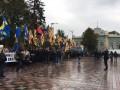 Активисты завершили митинг под Радой