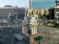 Центр Киева до и после столкновений: ФОТОсравнение