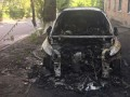 Авто главного редактора украинского телеканала сожгли ночью дотла – видео