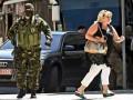 В Стаханове вооруженные люди ограбили военкомат