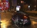 В Киеве пьяный полицейский влетел в электроопору - СМИ